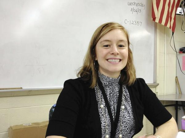 Margaret Pelchat, a new math teacher at Manchester High School, has been part of the Forbes Flyers competitive jump rope team since she was in third grade. She won her first national title this summer.