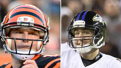 Who's picking the Ravens to beat the Cincinnati Bengals?