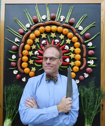 Celebrity chef Alton Brown comes Nov. 10 to the Sandler Center for the Performing Arts