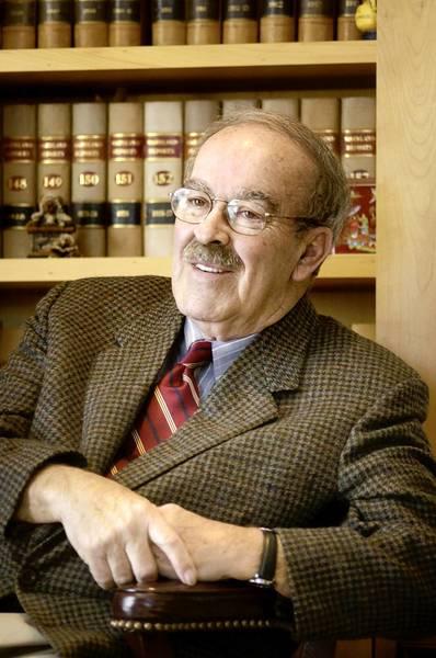 Judge Luke K. Burns Jr. in 2004.