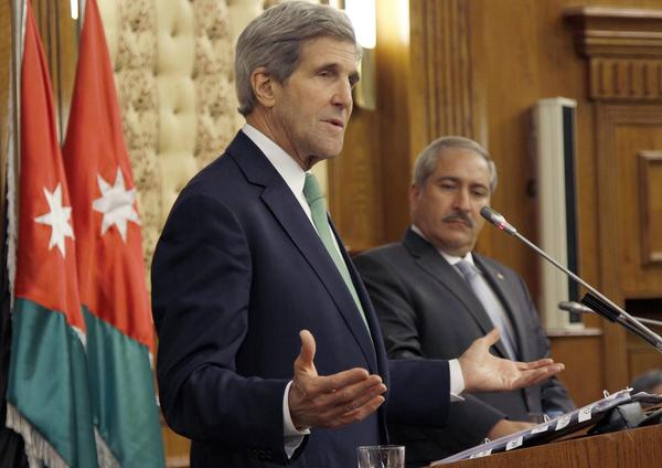 Secretary of State John Kerry in Mideast