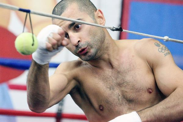 Boxer Vic Darchinyan trains at the Glendale Fight Club on November 1. Darchinyan will get the rematch hes craved for so long when he faces off with Nonito The Filipino Flash Donaire in a 10-round featherweight (126 pounds) bout on Friday in Texas. (Tim Berger/Staff Photographer)