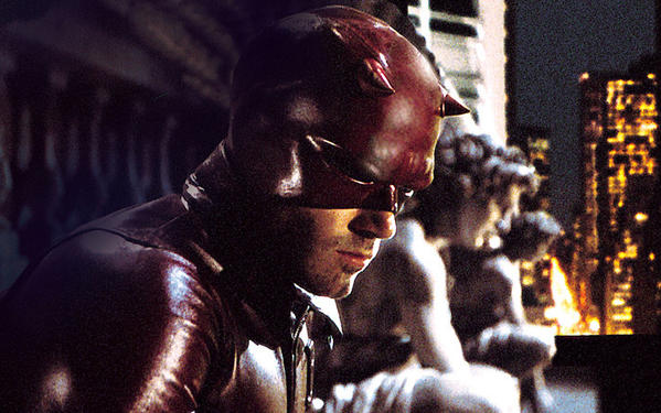 Ben Affleck played Daredevil in the 2003 film.
