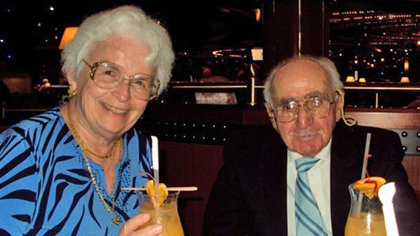 Family photo of Barbara, 78, and Phillip Russo, 88, who were found dead at their Deerfield Beach apartment Monday.