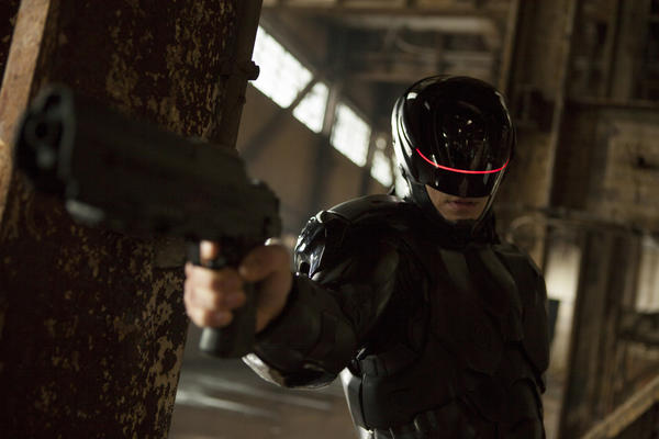Joel Kinnaman as 'Robocop'