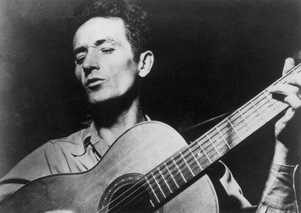 Folk singer Woody Guthrie's recently discovered novel is a finalist for the 2013 Bad Sex in Fiction prize.