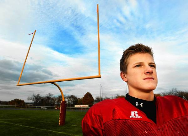 Parkland's football kicker Jacob Bissell gives Parkland a big edge on most teams in the D2-11 4A subregional tournament.