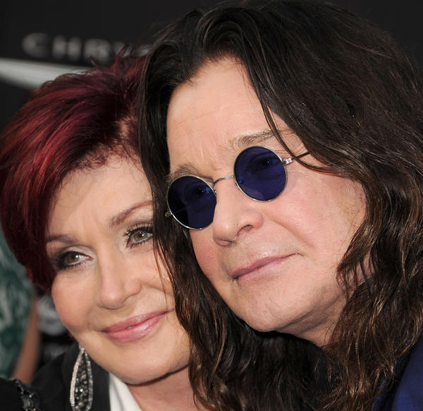 """Sharon Osbourne and Ozzy Osbourne. On Thursday's edition of """"The Talk,"""" Osbourne apologized to the women on """"The View."""""""