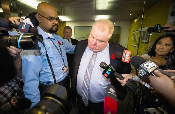 "Toronto Mayor Rob Ford admitted this week that he smoked crack cocaine, ""probably in one of my drunken stupors."""