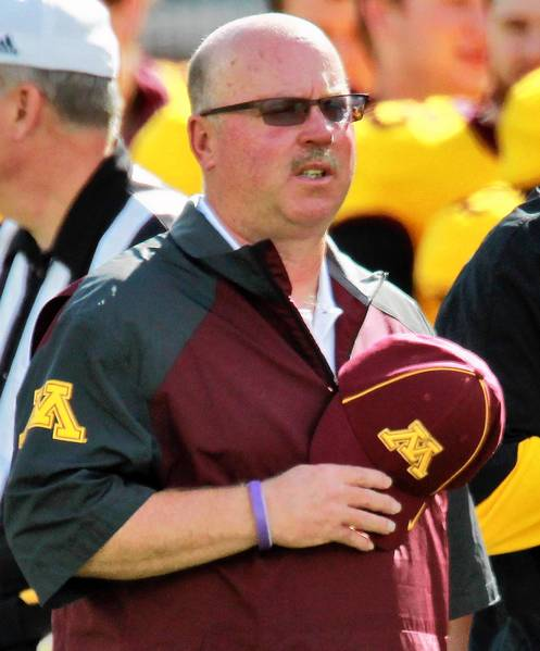 Minnesota head coach Jerry Kill