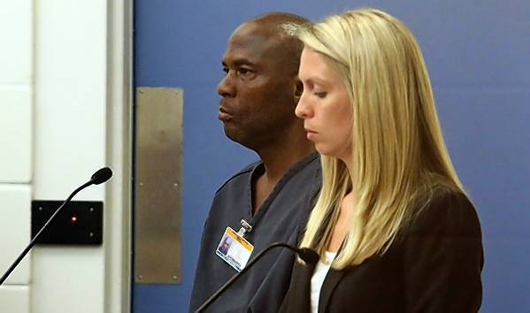 Dominic Reed, 45, was sentenced Nov. 7, 2013 to 25 years in prison for raping an elderly woman.