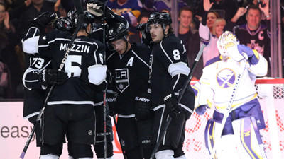 Kings Take Advantage Of Lowly Sabres In 2-0 Win