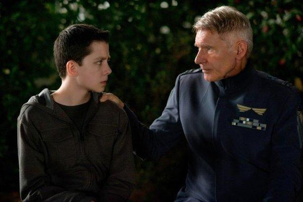 "Asa Butterfield portrays the young hero mentored by Harrison Ford's colonel in Orson Scott Card's YA adaptation ""Ender's Game."""