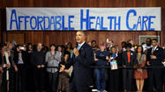 Obamacare issues follow president on the road