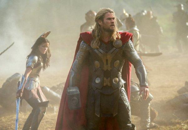 """Thor,"" starring Chris Hemsworth, will score at the box office."