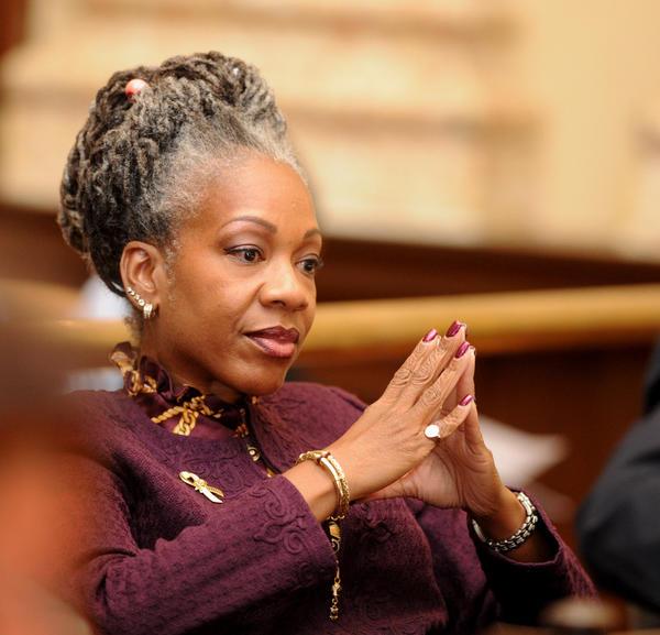 Baltimore City councilwoman Helen Holton