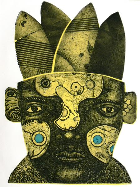 "Ron Garrett, who created this etching called ""Kemosabe,"" will be a featured artist at the Rossetti Fine Art Gallery Nov. 15 for this season's launch of the Island City Art Walk in Wilton Manors."