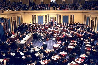 Orwells  Greatest Essays No  Politics And The English  Scene Of The Crime The Us Senate In Session