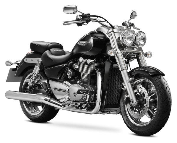 The Triumph Commander is one of several new cruisers being rolled out for 2014.