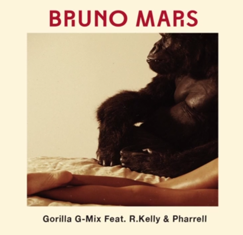 "Bruno Mars released a remix of his song ""Gorilla"" featuring R. Kelly and Pharrell."