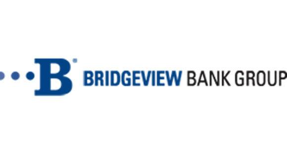 A screen grab of the Bridgeview Bank logo.