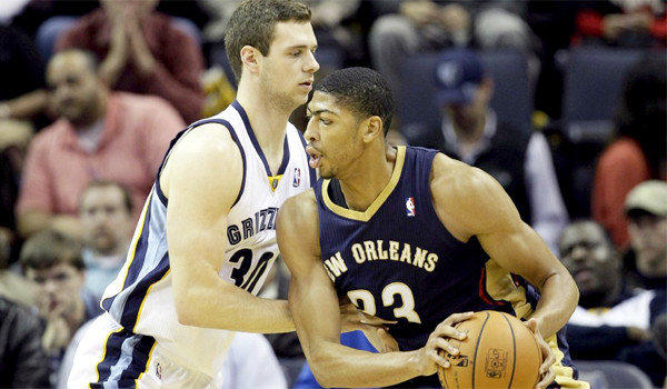 Anthony Davis, Jon Leuer