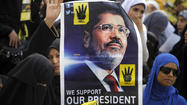 Family of Egypt's deposed leader Mohamed Morsi visit him in prison