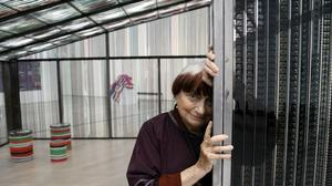 Film auteur Agnes Varda marks her California return with artful glee