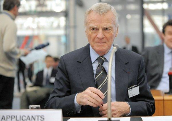 A French Court ruled that Google must filter certain images of Max Mosley out of its search engine. Above, Mosley is seen in 2011 in France.