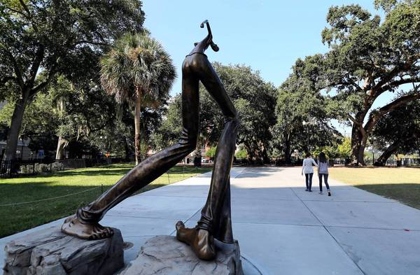 See Art Orlando sculptures around Lake Eola Park and in downtown Orlando, on Friday, November 8, 2013.