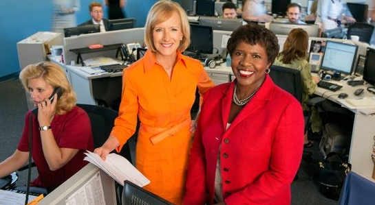 "Judy Woodruff and Gwen Ifill, anchors of PBS ""NewsHour,"" a newscast losing audience, personnel and possibly its longtime production company home. Is this the best public television can do for a nightly newscast?"