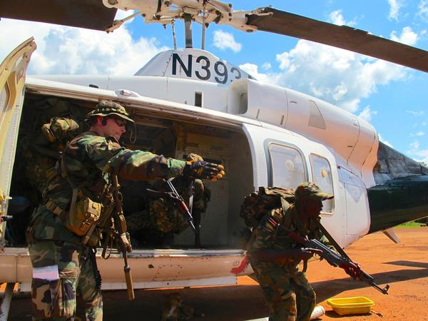 U.S. Special Forces soldiers in South Sudan