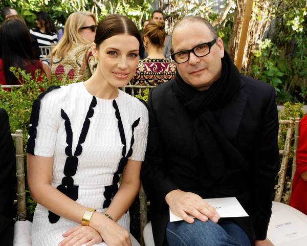 "Actress Jessica Pare of ""Mad Men"" and designer Reed Krakoff."