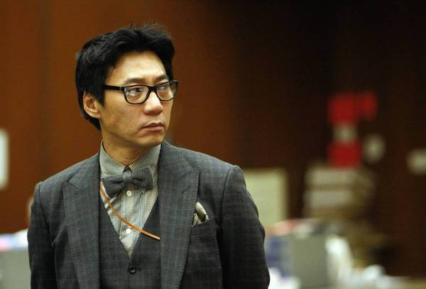 "Young Lee, co-founder of the Pinkberry yogurt chain, was convicted of beating a homeless man with a tire iron in East Hollywood. Lee, 49, also was declared a ""significant threat to the community"" because he had threatened a witness at his trial."