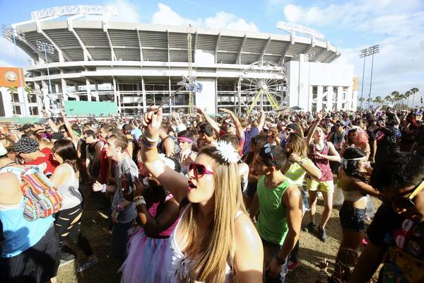 Electric Daisy Carnival on Friday at Tinker Field in Orlando. Nov. 8, 2013.