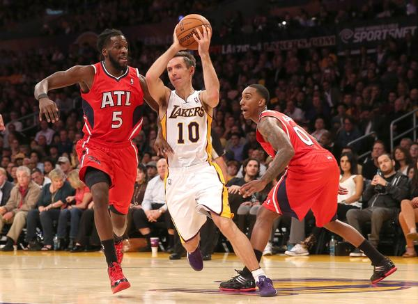 Steve Nash, DeMarre Carroll, Jeff Teague