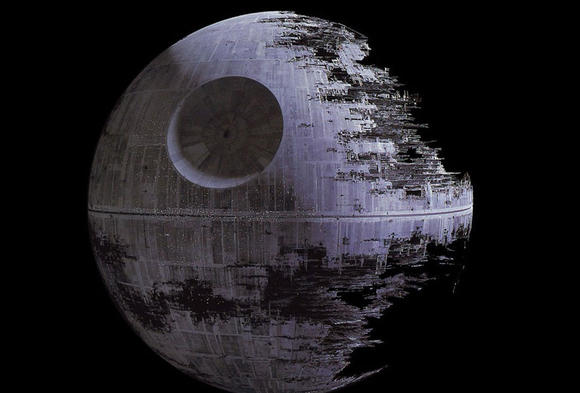 """Star Wars"" Death Star"