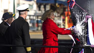 Pictures: Christening the Carrier Gerald R. Ford