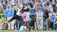 North Carolina routs Virginia 45-14 as Cavaliers' slide continues