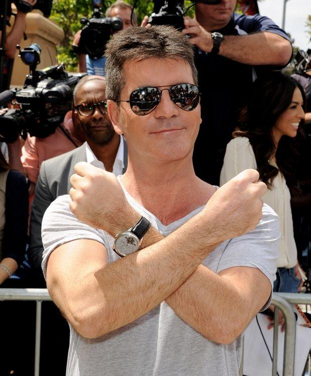"""The people of the future will need my acerbic put-downs,"" Cowell explained. ""And I'm also concerned about the life span of skin-tight V-necks."""