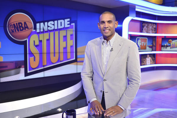 Grant Hill at Turner Studios.
