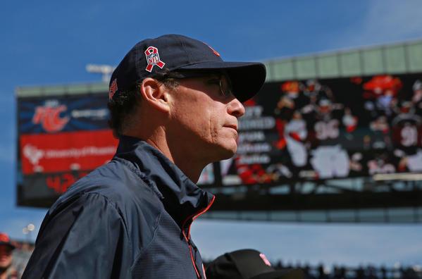Bears coach Marc Trestman at Soldier Field.
