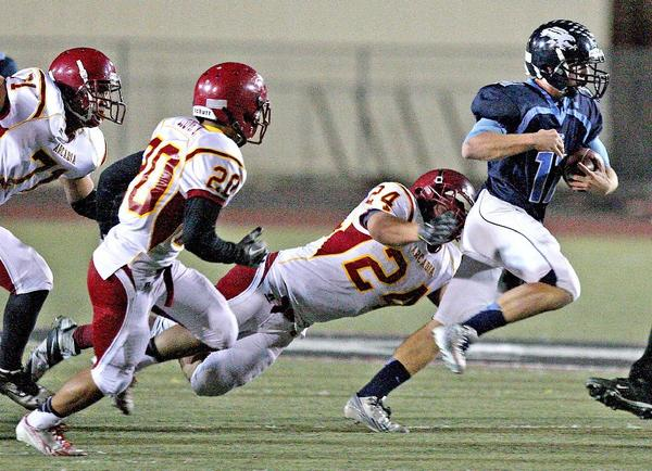 Crescenta Valley High's Kevin Hello and the Falcons were hoping for an at-large playoff berth that they did not get. (Roger Wilson Staff Photographer)
