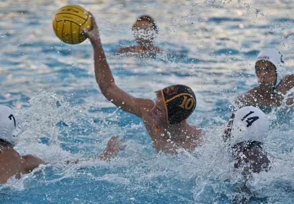 Matt Olson and the La Canada boys' water polo team will host Redondo Union on Wednesday. (Raul Roa Staff Photographer)