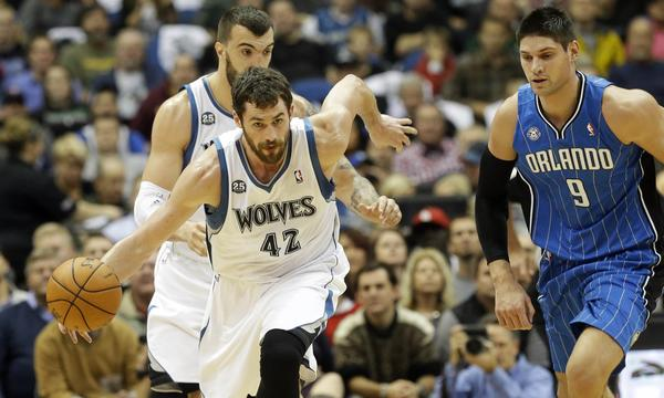 The Clippers will look to slow down Kevin Love and the Minnesota Timberwolves on Monday.