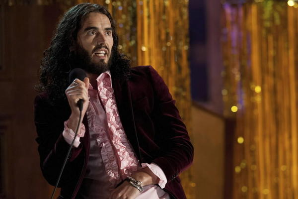 "Russell Brand in the film ""Paradise"""