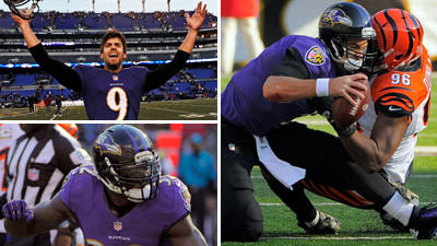 Mike Preston grades the Ravens' 20-17 victory over the Cincinna…