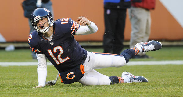 It's true, Josh McCown. You and the Bears are looking up at Detroit in the NFC North.