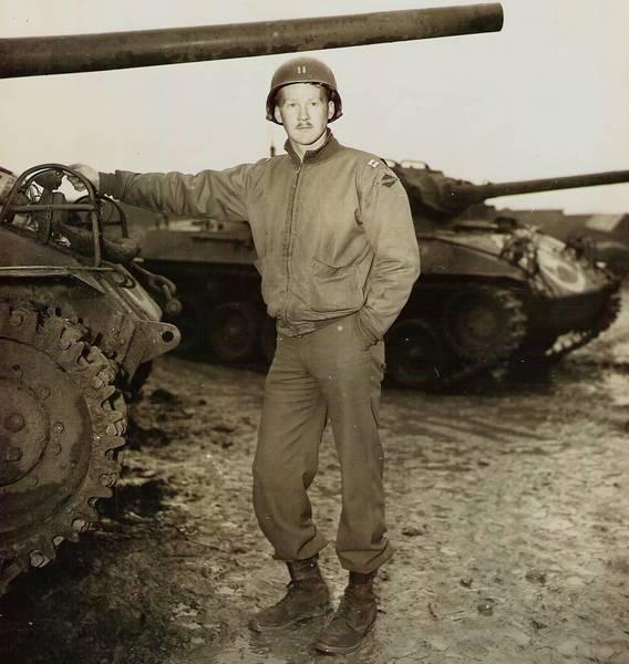 John C. Raaen Jr. in Toul, France, in November 1944.