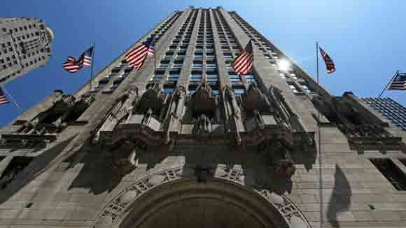 Tribune Tower in a 2012 file photo.